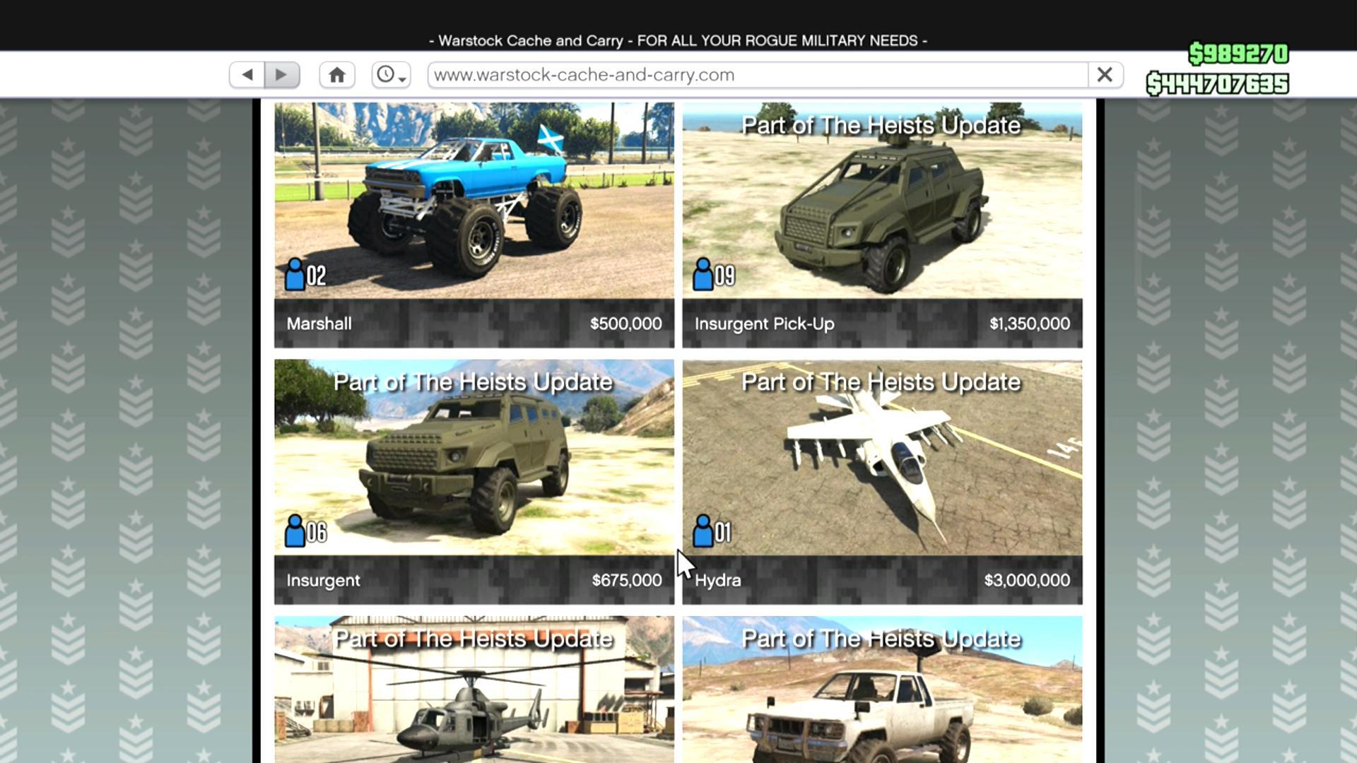 Expensive Cars To Buy And Sell In Gta