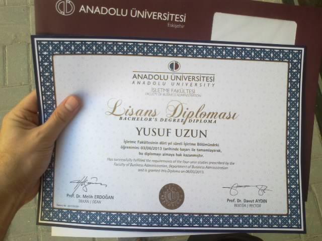 Diploma Dağıtmaya Başlayan Aöf Bürolarının Listesi 21062013