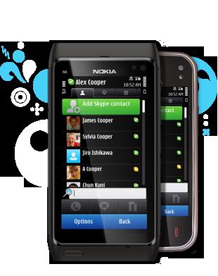 nokia c6 skype download