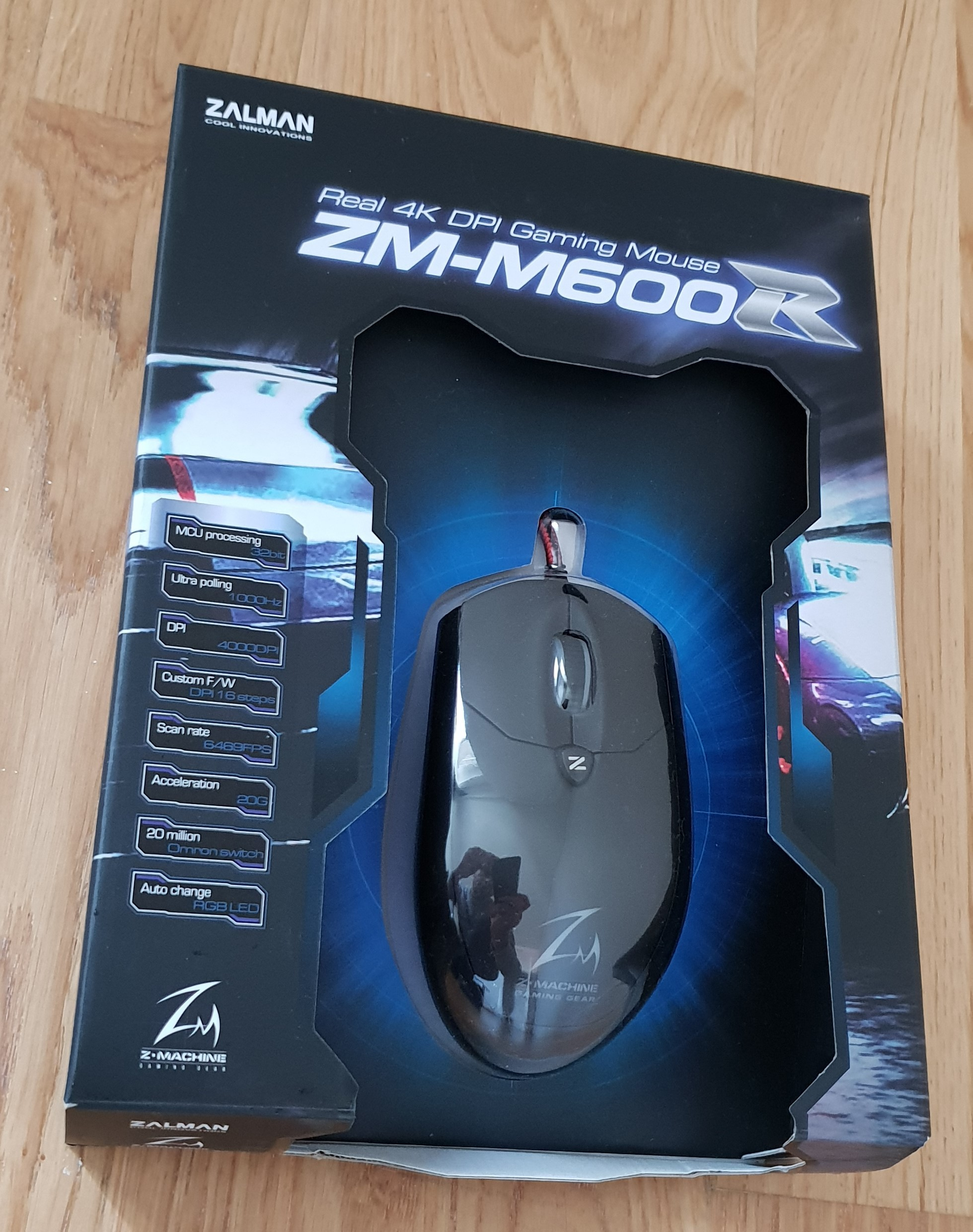 yeni logitech G303 & Asus ROG sica & Zalman ZM M600R Oyuncu faresi Sayfa 1 1