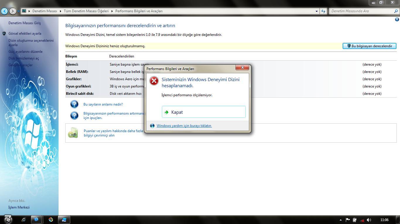 Windows Deneyim Dizini