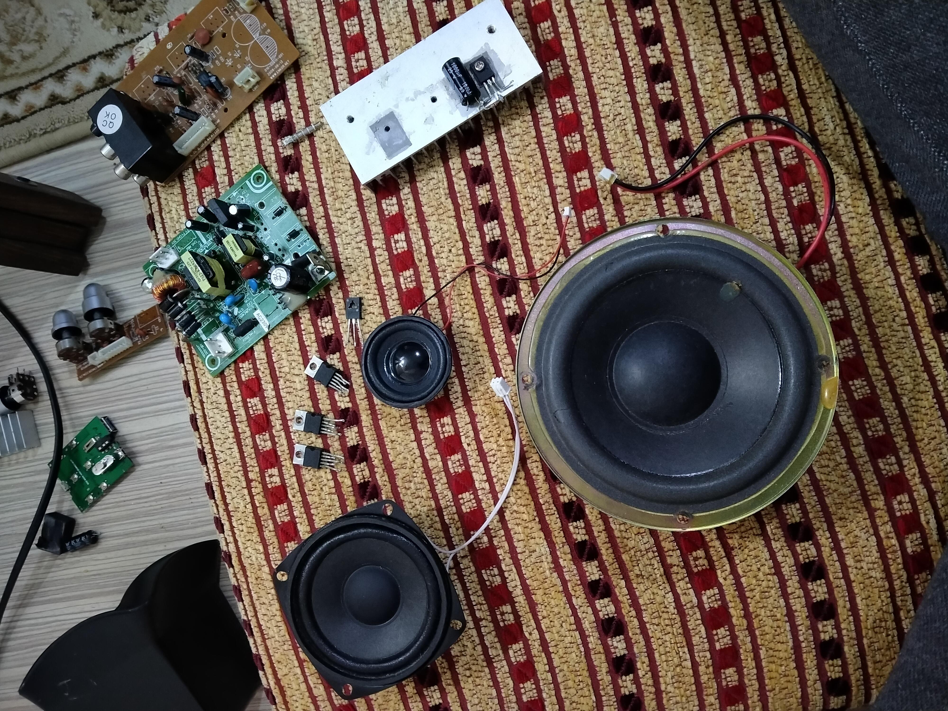Hurda ses sistemini değerlendirmek istiyorum