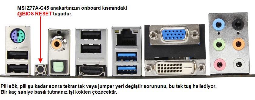 msi click bios2 açılmıyor hata ? (çözüldü içerde) » Sayfa 1 - 1