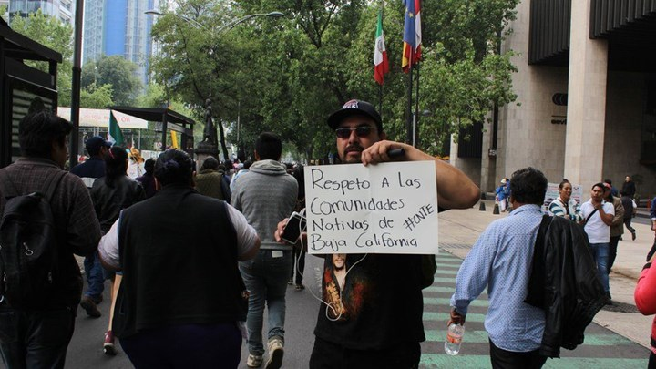 2020'de Meksika'da öldürülen aktivist