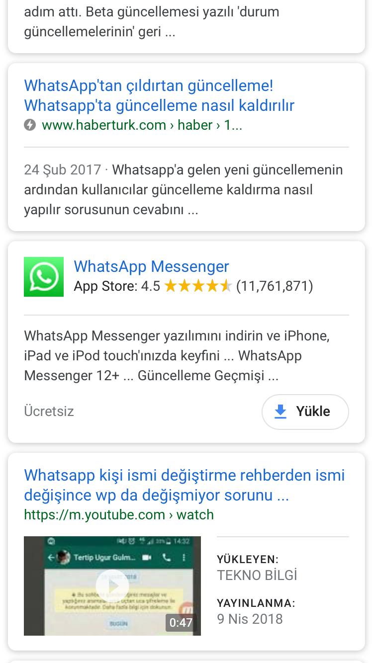 Whatsapp Isim Sorunu Sayfa 1 1