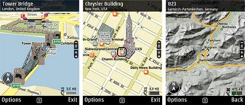 Google Maps for mobile for Symbian - Download