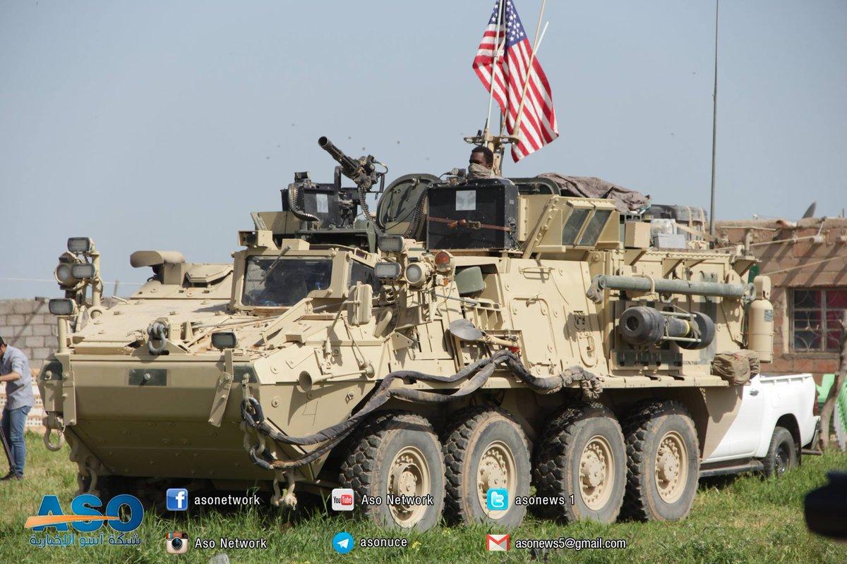 ABDli askerler YPGyle birlikte sınır nöbetinde 70