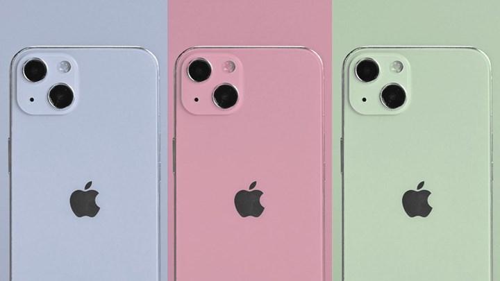 iPhone 13 renk seçenekleri