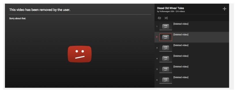 девушка автор ограничил доступ к видео раньше