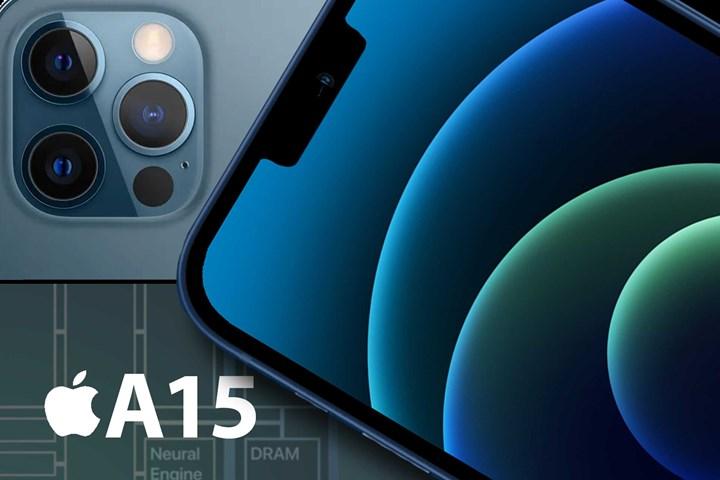 iPhone 13 işlemcisi A15 Bionic
