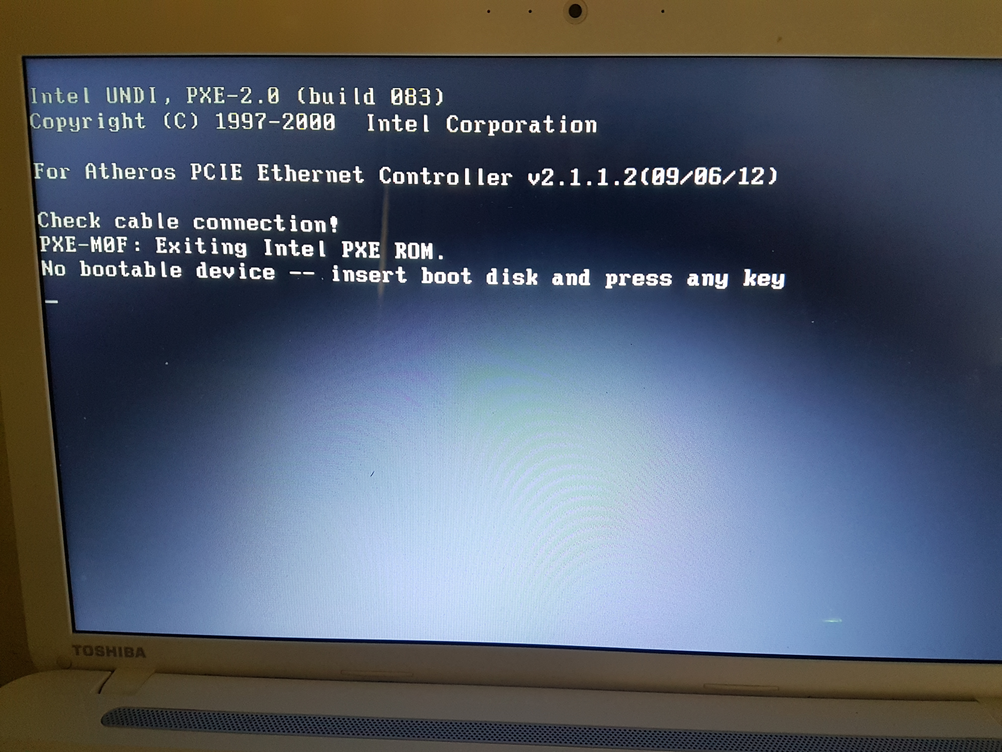 Insert Boot Disk And Press Any Key Hp Laptop - Best Image About