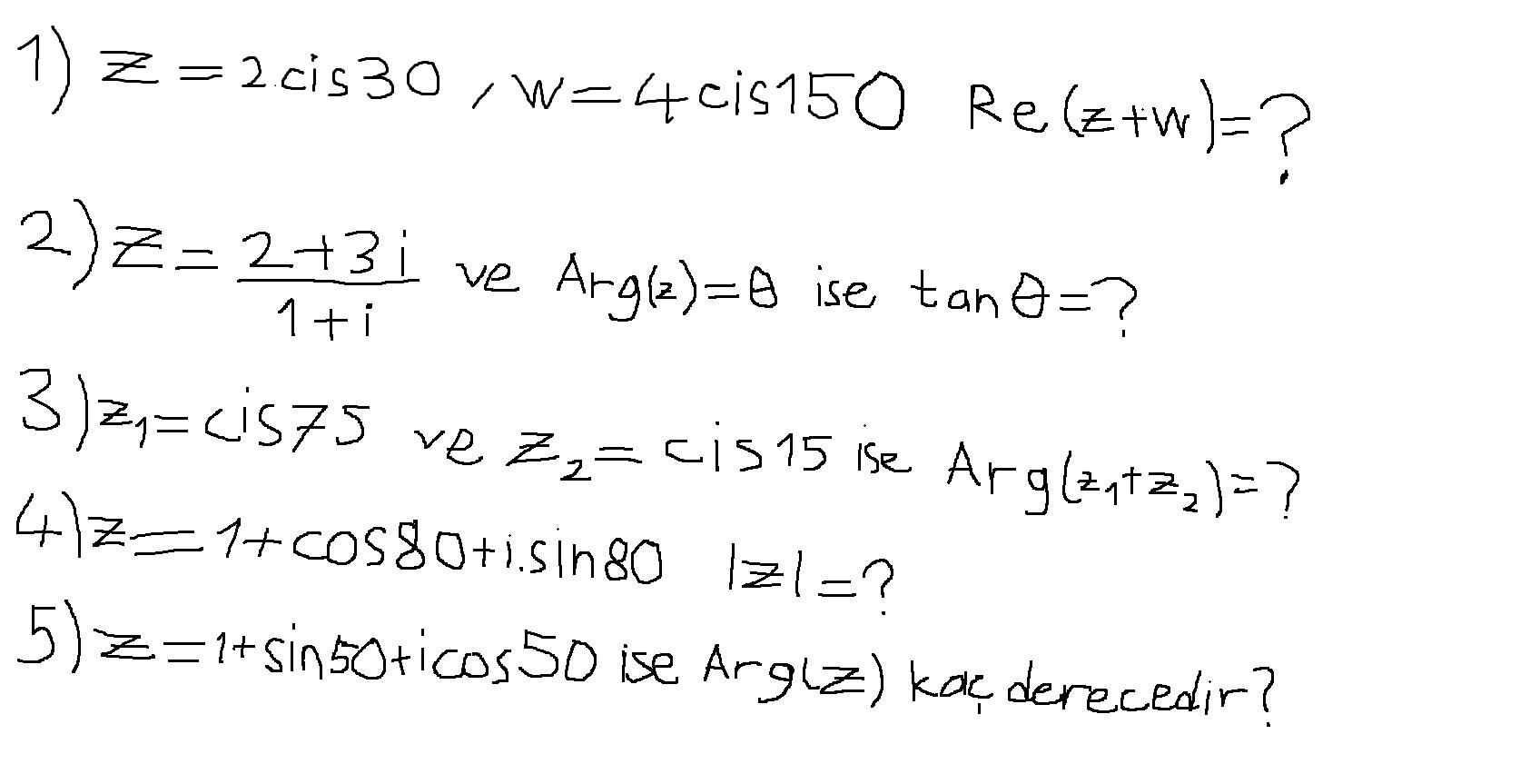 karmaşık sayılarda bölme