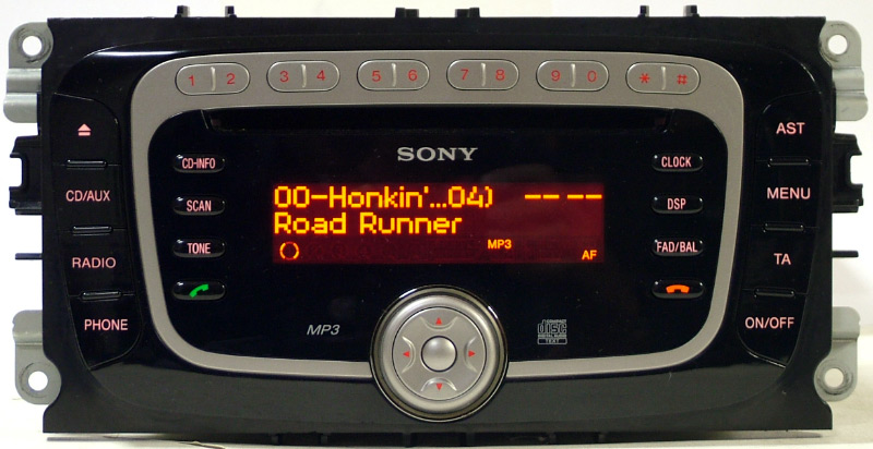 Usb-mp3 for ford sony