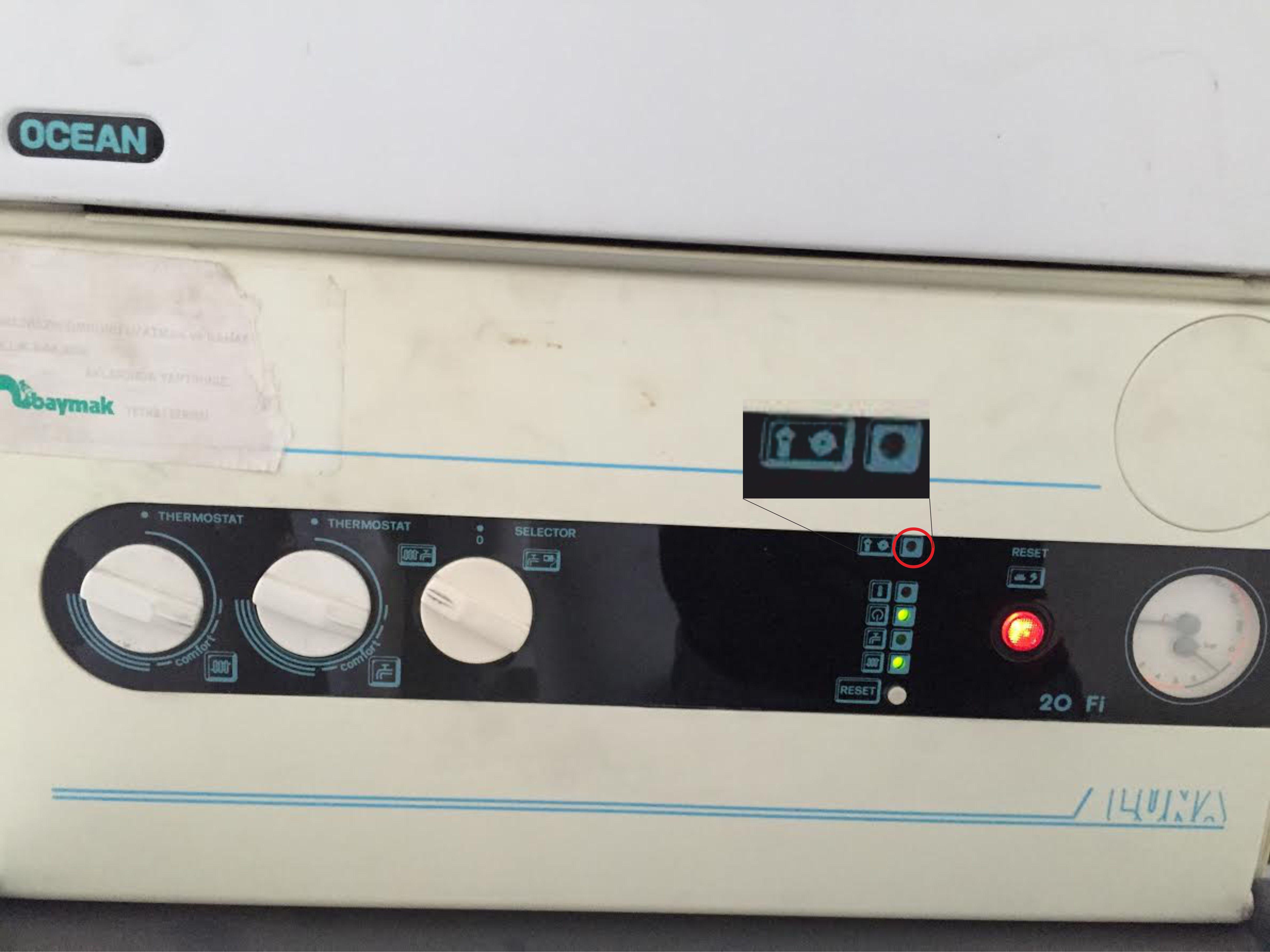 Cevap komb arizalari buraya for Manuale termostato luna in 20 fi