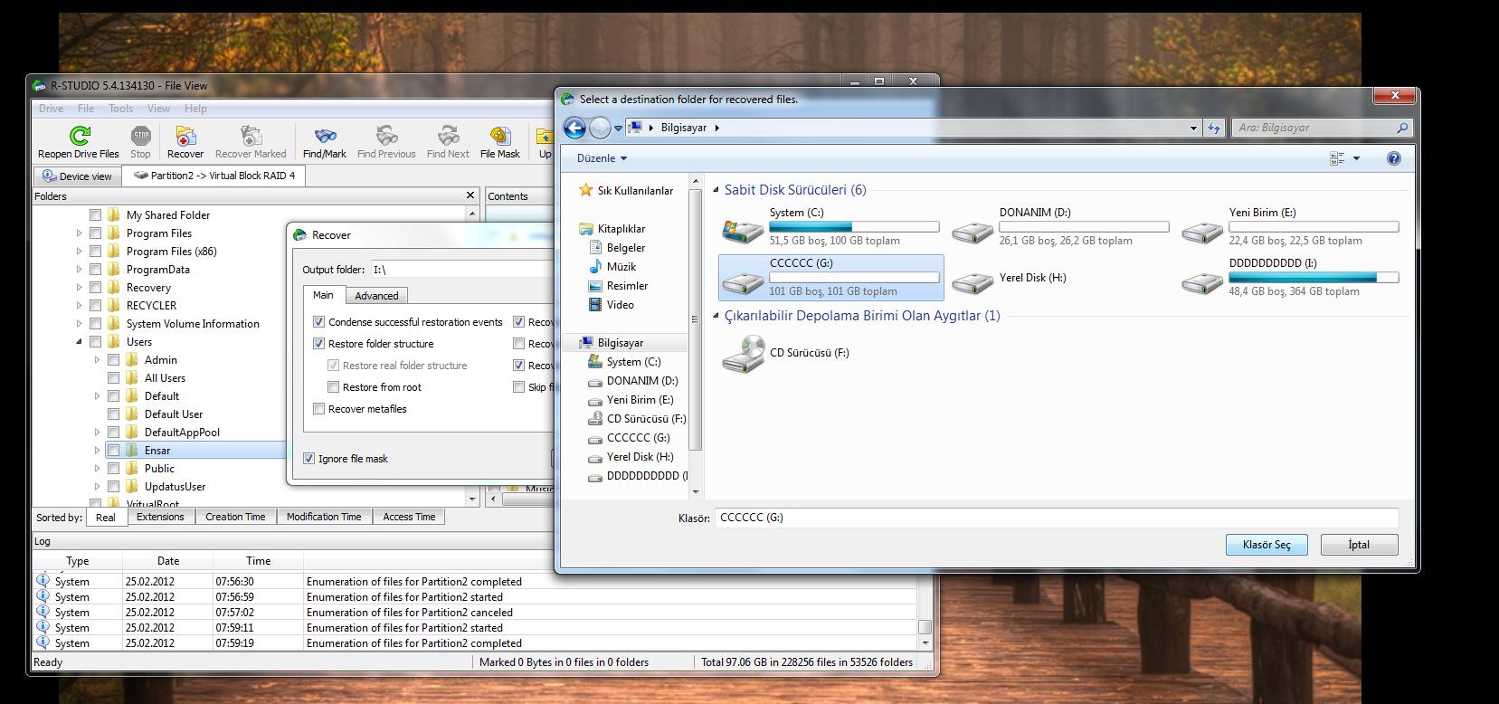 RAID Disk veri kurtarma (RESİMLİ ANLATIM) 9