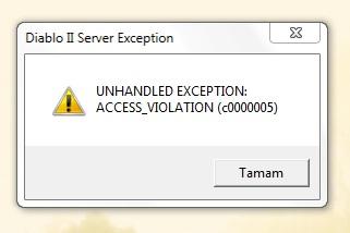 Error 65: service violation at 0x53000008 : no write permission