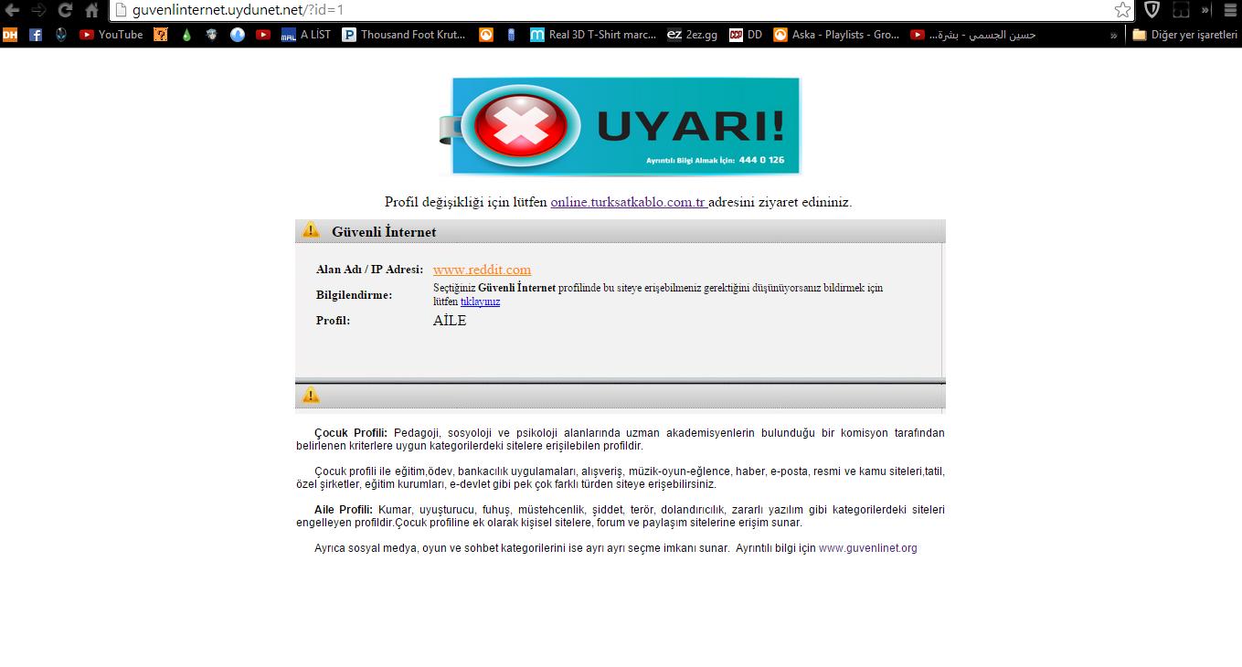 türksat aile koruma programı