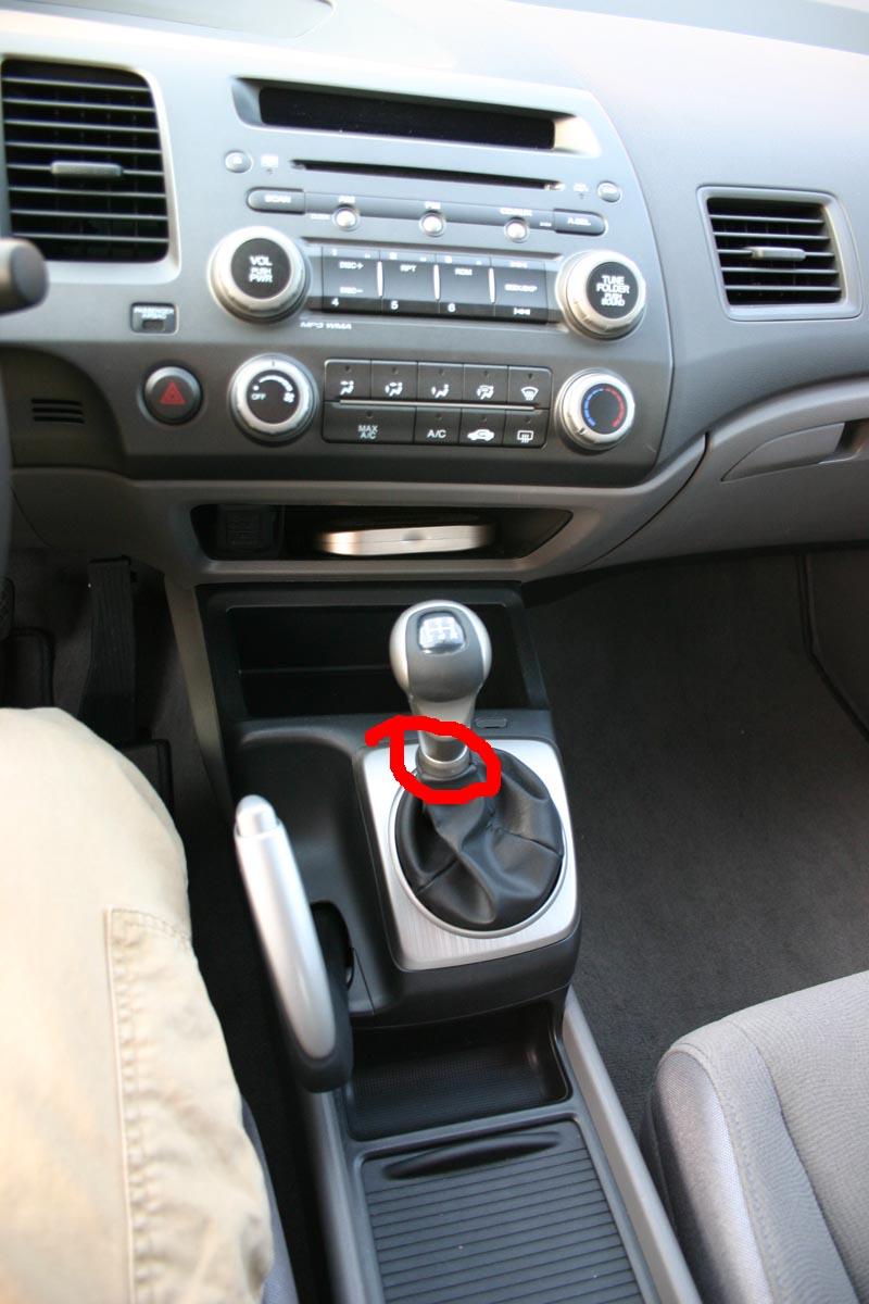 2007 Honda civic Sedan Aux bağlantısı
