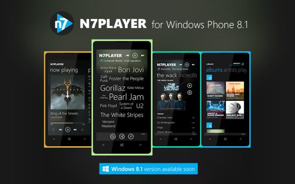 N7PLAYER ДЛЯ WINDOWS PHONE СКАЧАТЬ БЕСПЛАТНО