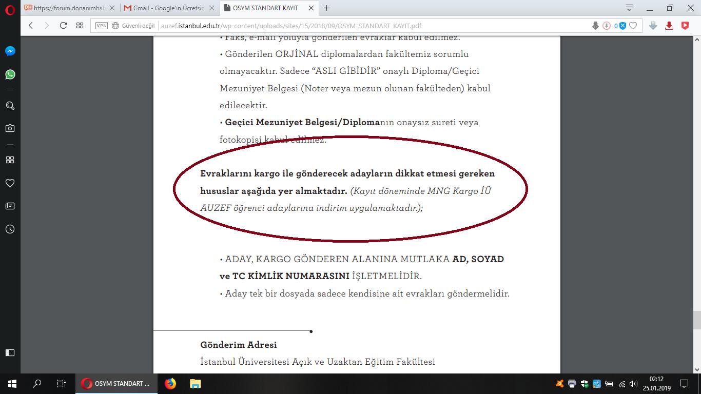 Istanbul üniversitesi Auzef Okuyan Var Mı Sayfa 3 3