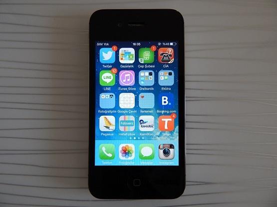 iphone 4s 16 gb siyah yurtdisi kayitli
