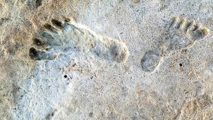 23.000 yıllık ayak izleri