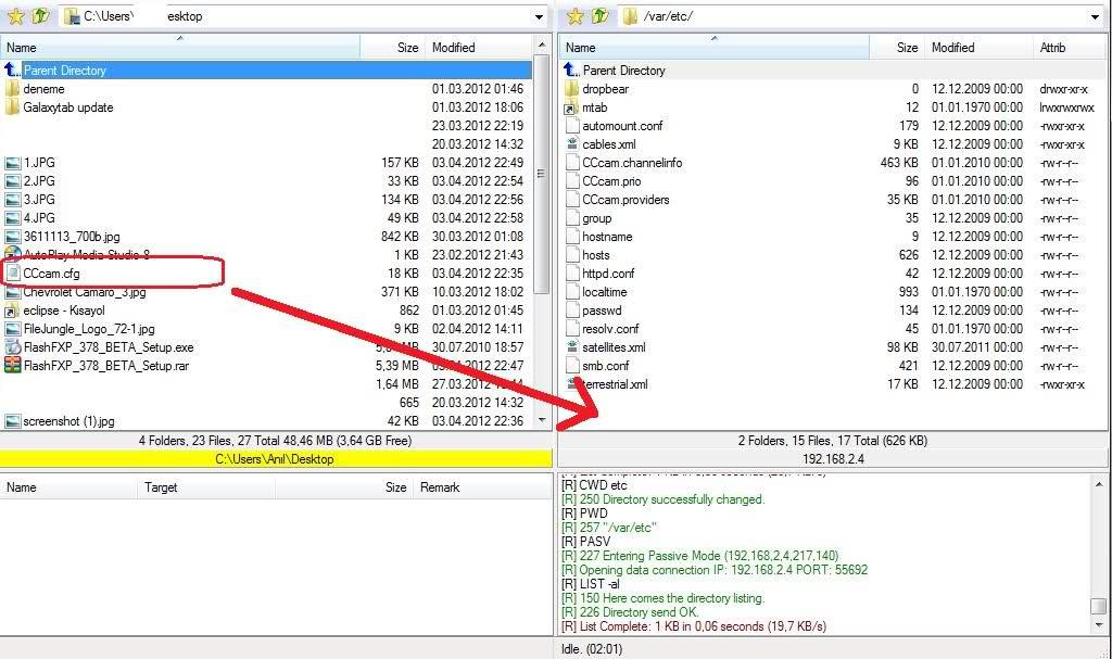 how to create cccam server