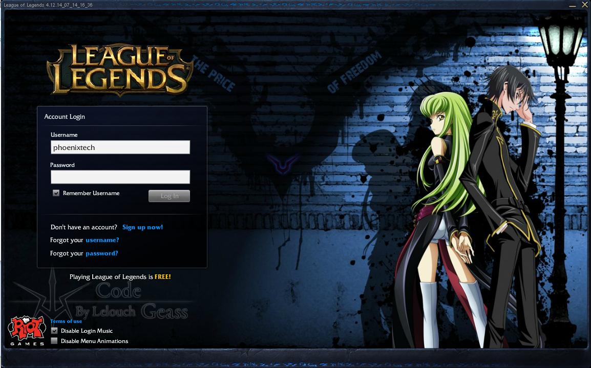 League Of Legends Giriş Ekranı Arka Planı Değiştirme