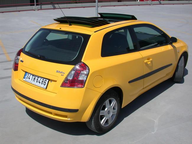 Fiat Stilo 1 6 Dynamic Tek Kapı Sarı