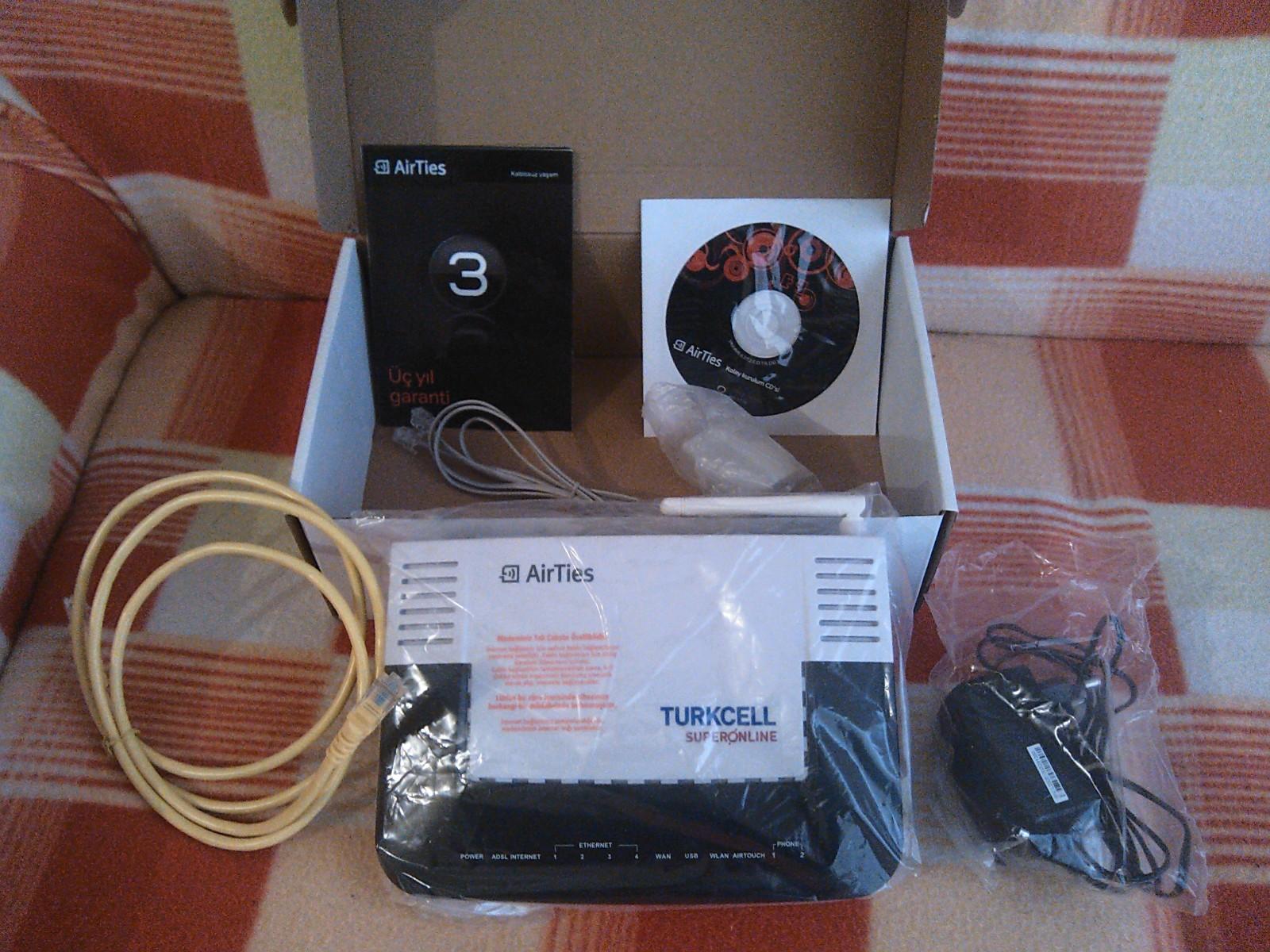 Airties 6372 modem firmware