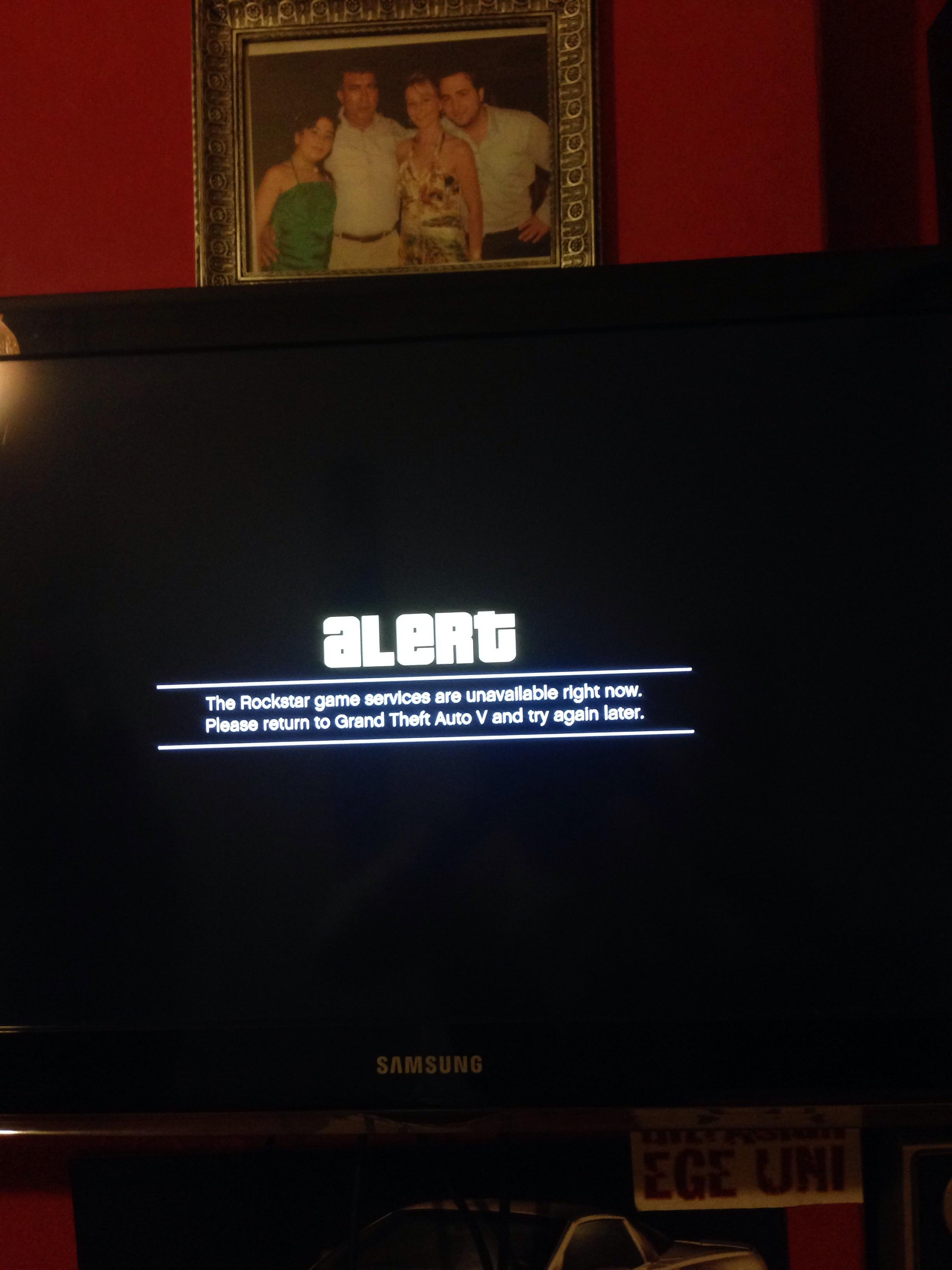 the rockstar game services are unavailable right now | Gameswalls org