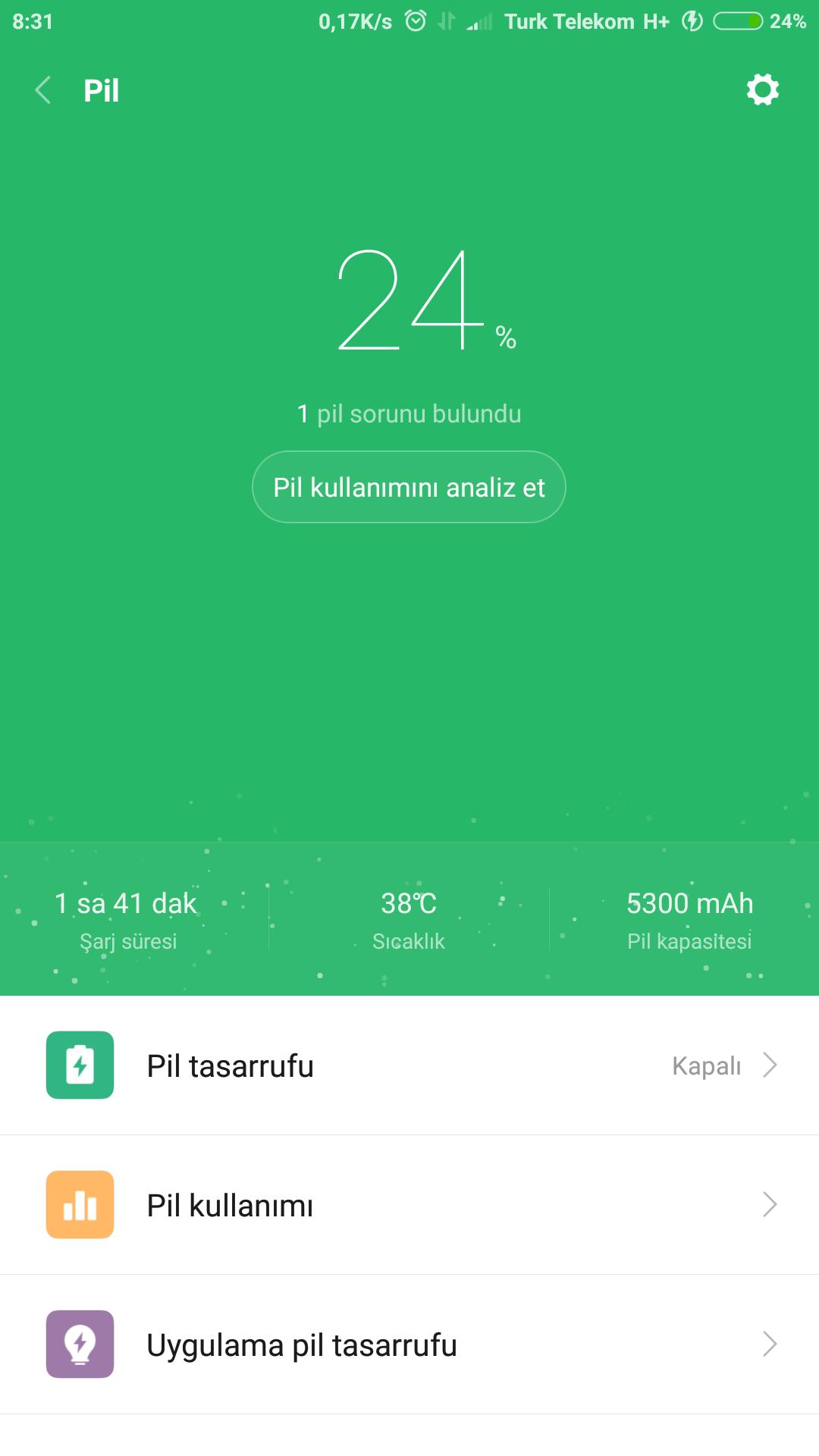 Xiaomi Mi Max 2 Pil kullanım testi performans ve deneyimleri ve Şarj olma süresi Sayfa 1 3