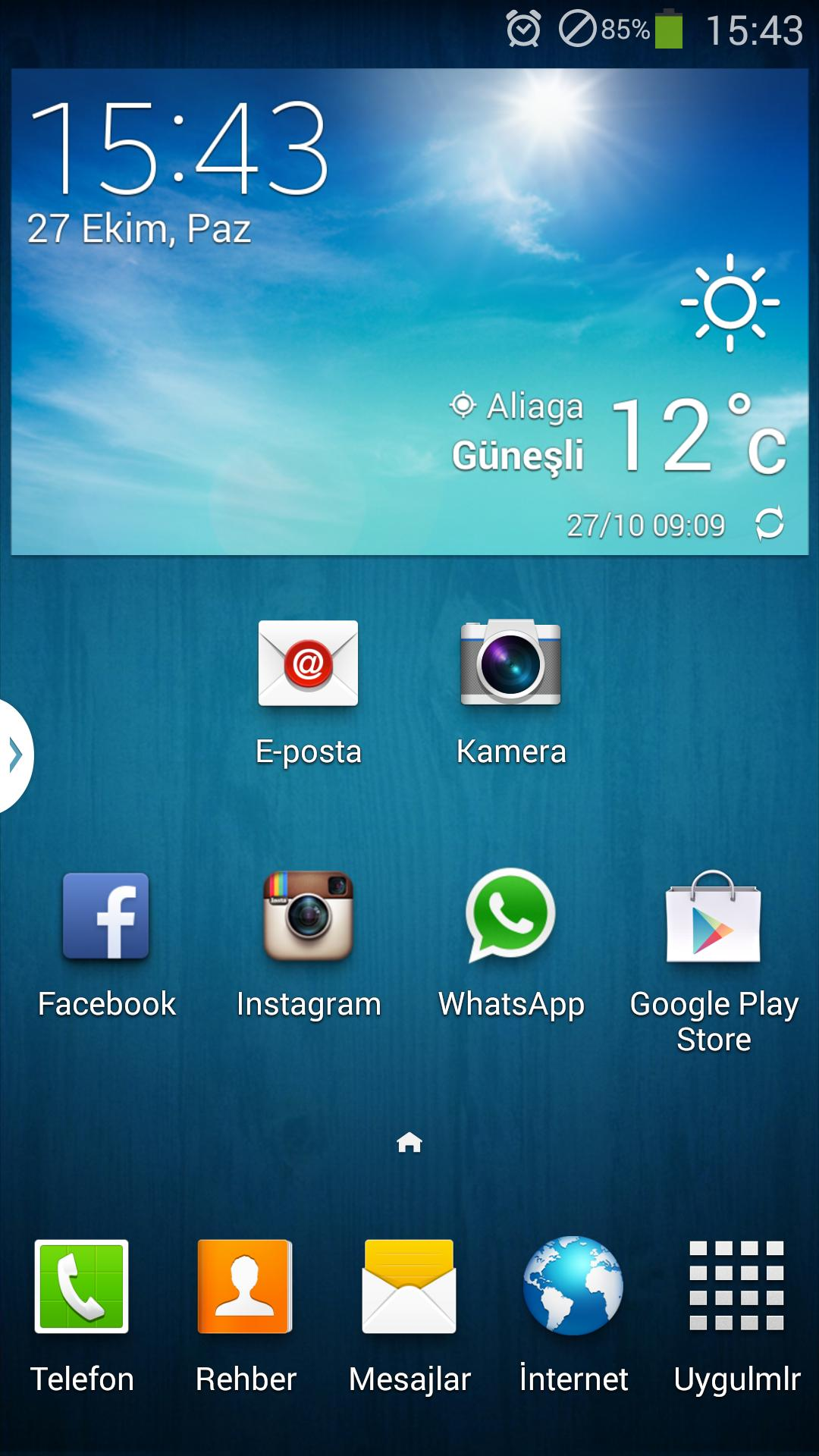 Samsung arama kaydı gözükmüyor