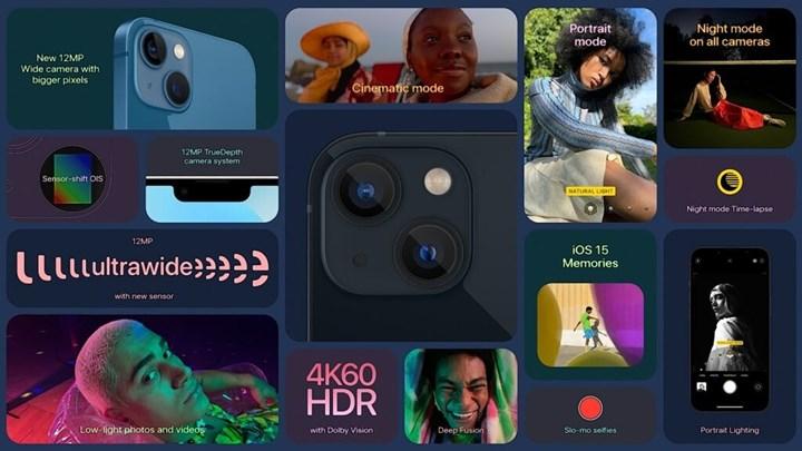 iPhone 13 kamera özellikleri