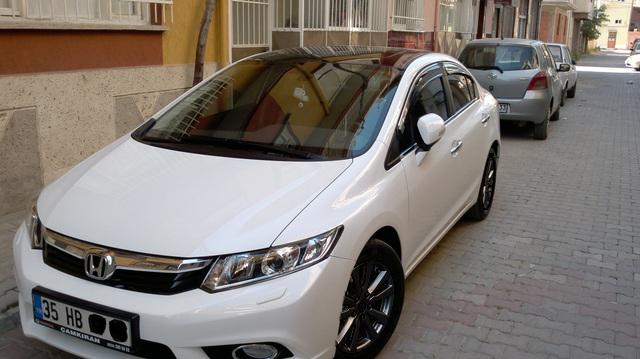 2012 15 Honda Civic Sedan Ilk Mesaji Okuyunuz