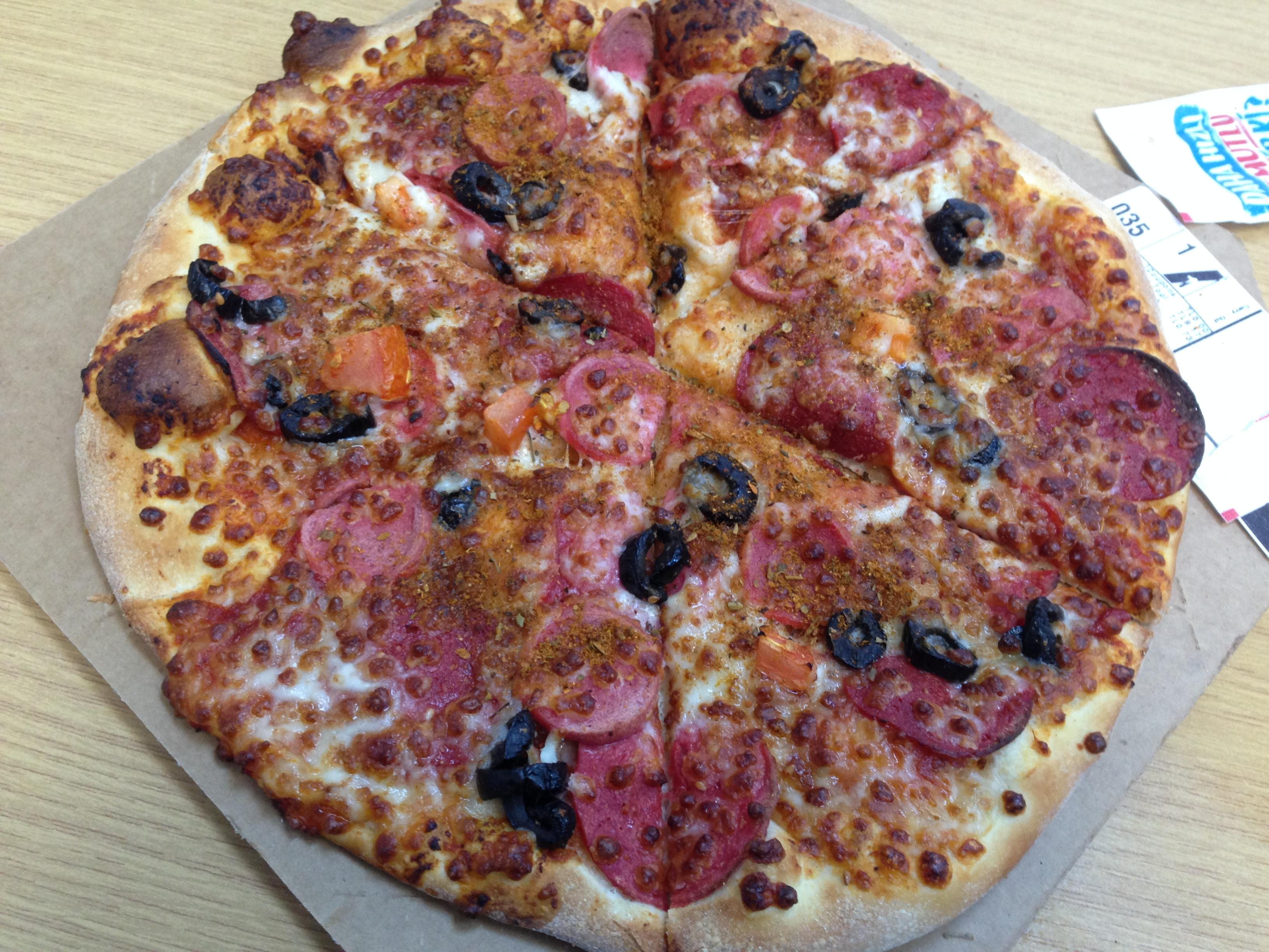 Dominos Pizza Gel Alda Orta Boy Dopdolu Pizza 990 Tl140 Tl