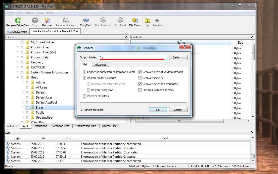 RAID Disk veri kurtarma (RESİMLİ ANLATIM) 8