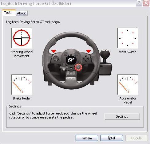 116a2c12a4c Ayrıca bilgisayarı yeni açtığınızda bu ayarları yapmadan direksiyonu  döndürmeye çalıştığınızda direksiyonun çok sert olduğunu görürsünüz  arkadaşlar.