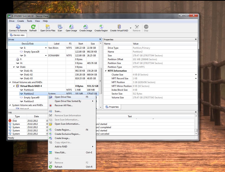 RAID Disk veri kurtarma (RESİMLİ ANLATIM) 4