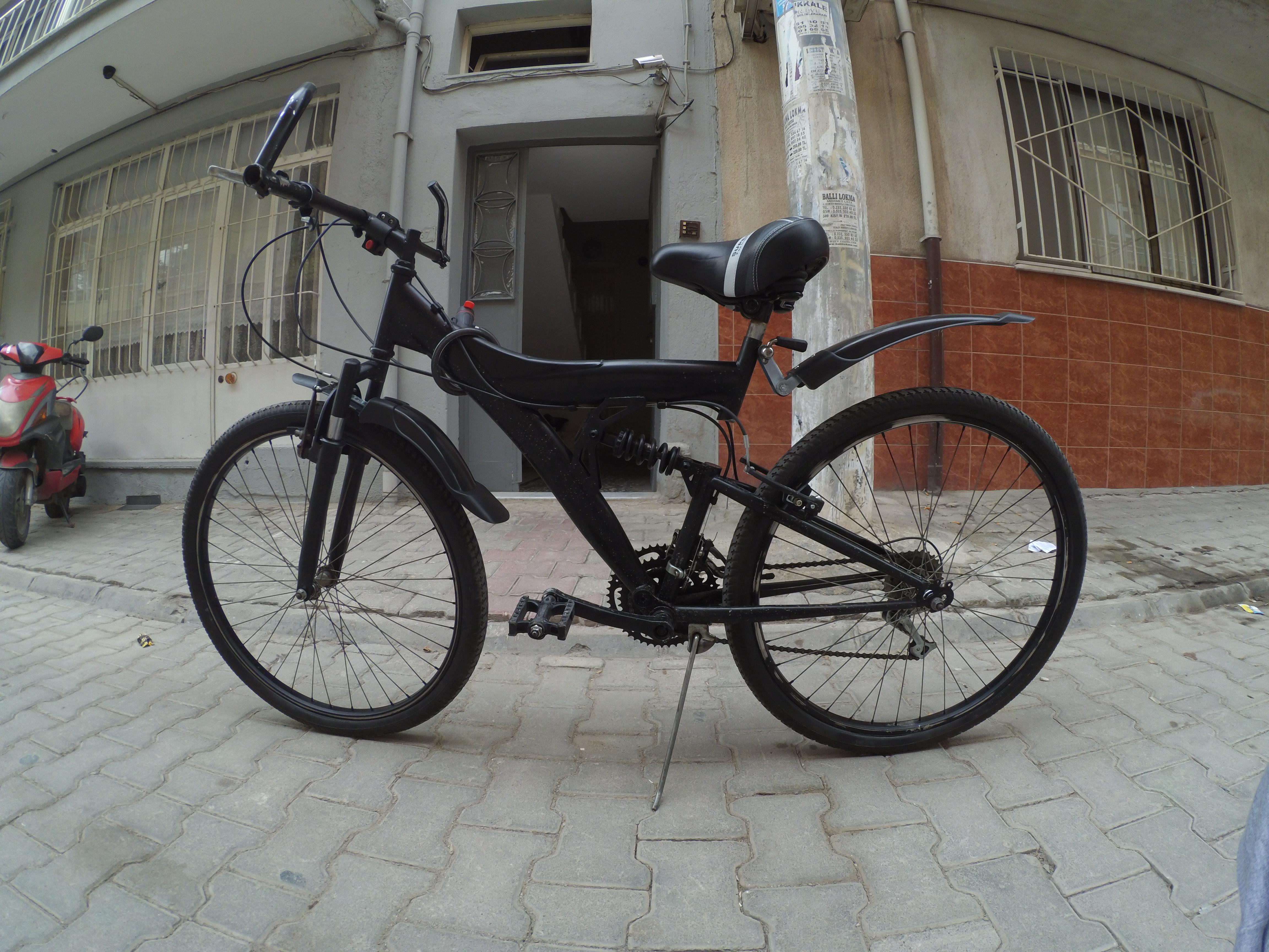 Bisiklet Boyama Asama Asama