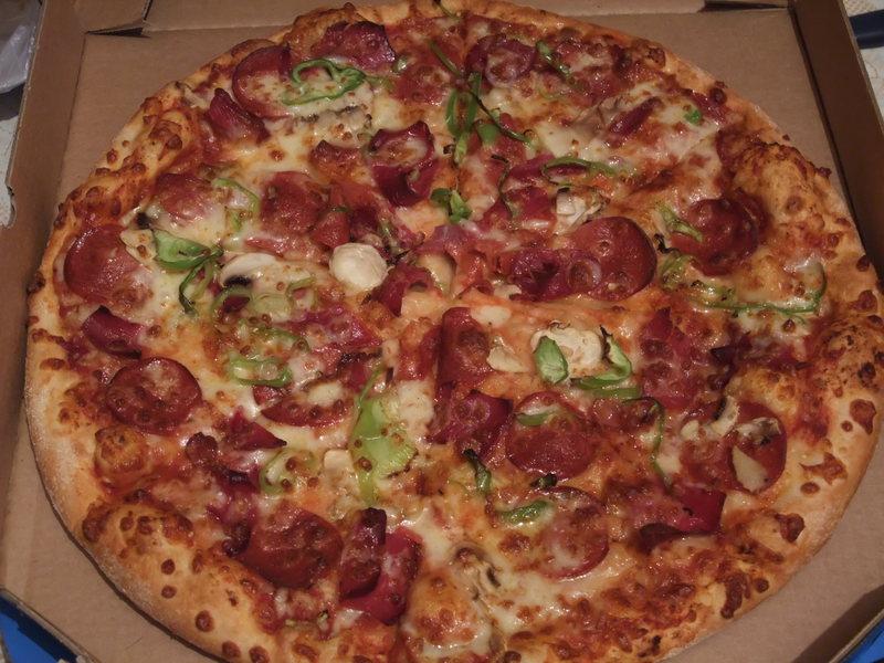 resimli tarif: dominos küçük boy pizza kaç dilim [12]