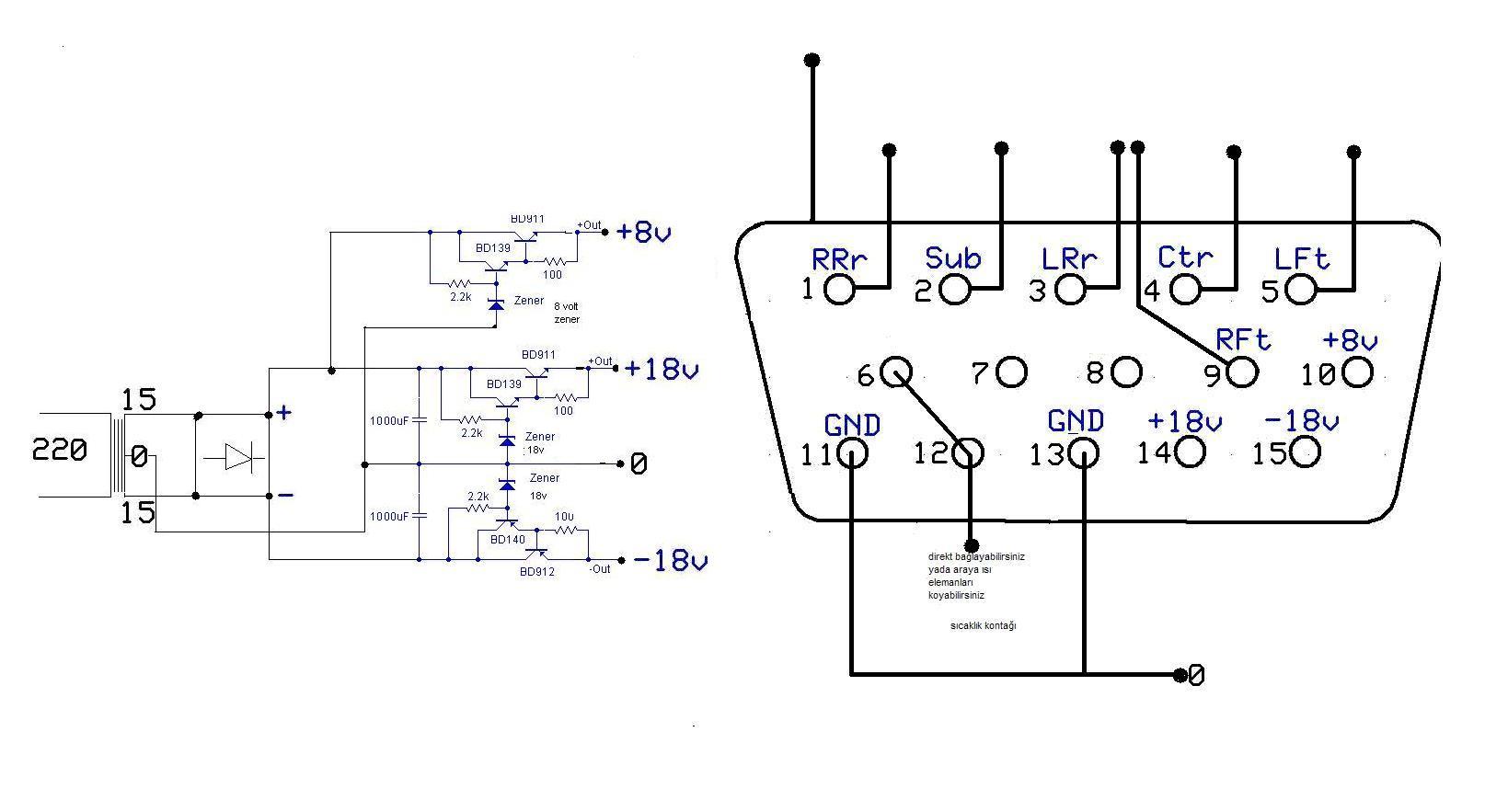 Swimod G Kayna Sayfa 1 Logitech Z 2300 Circuit Diagram Bu Konuda Yardmlarnz Bekliyorum