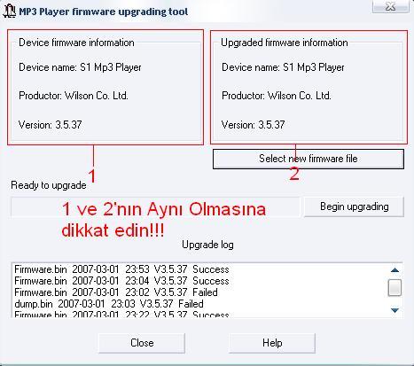 çin malı mp3/4 firmware anlatım (resimli) » Sayfa 9 - 17