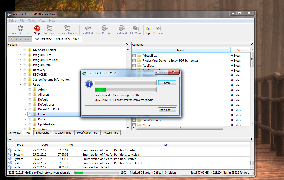 RAID Disk veri kurtarma (RESİMLİ ANLATIM) 11