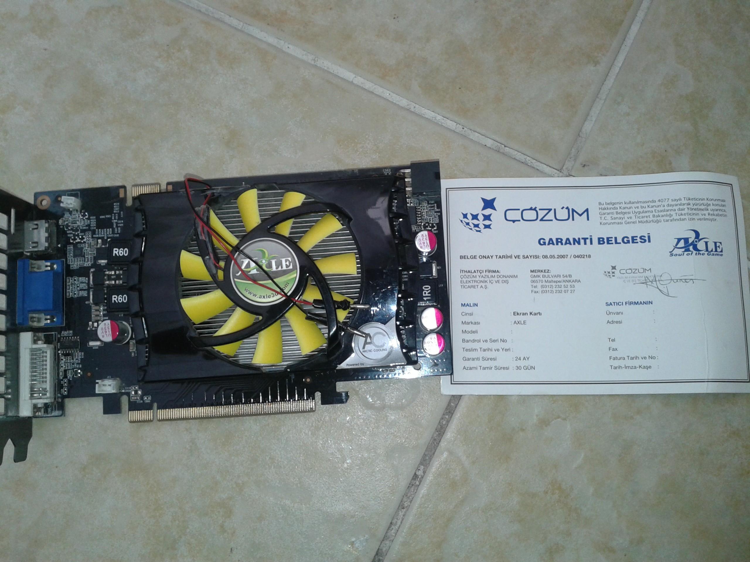 Nvidia GeForce 9600 GT: ekran kartının özellikleri