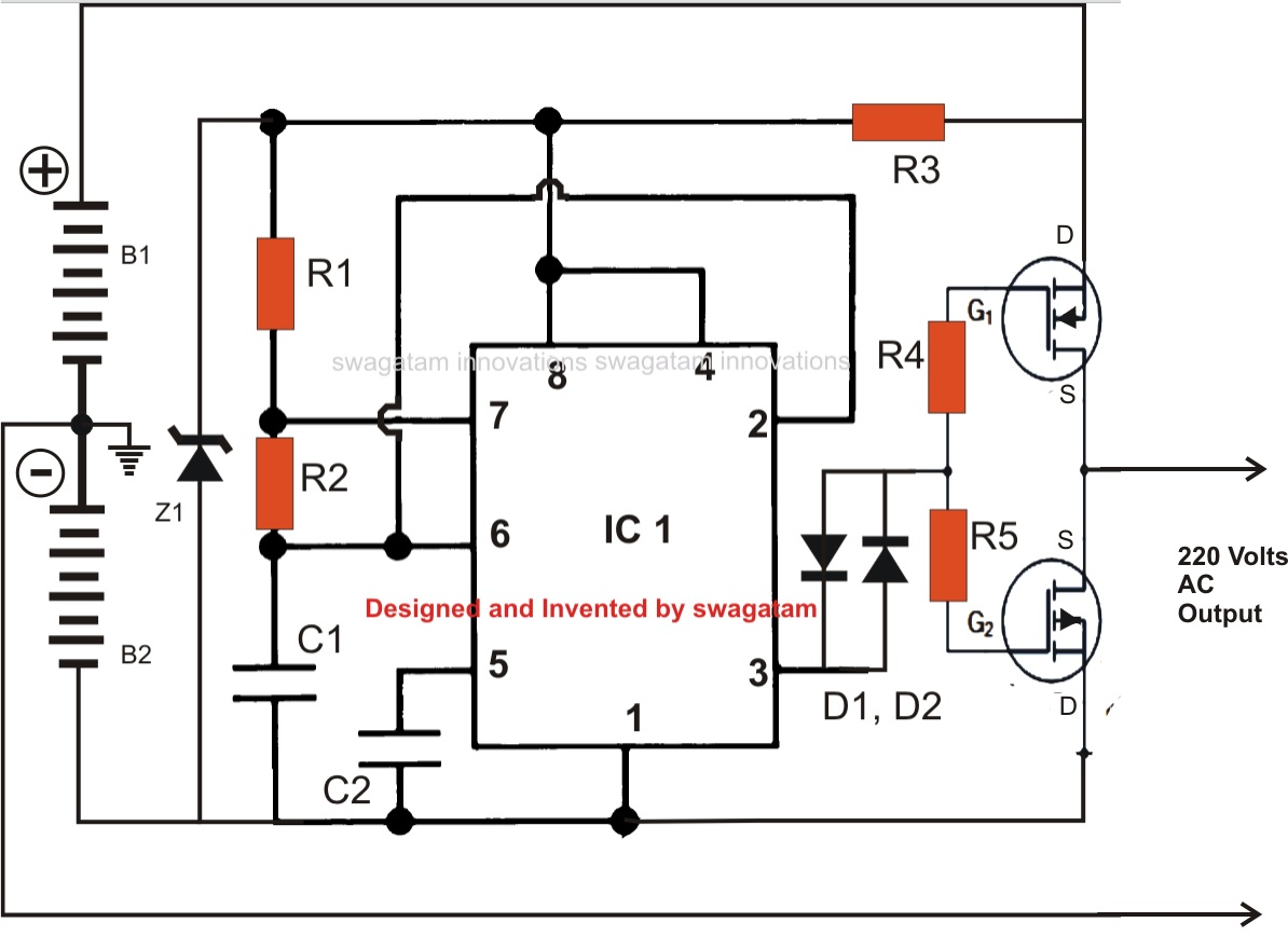 Pure Sine Wave Inverter Circuit Schematic Best Apps And Shareware Egg Timer Ups Diagram Datasheet Cross Reference Application Notes In Pdf Format Microchips Digital