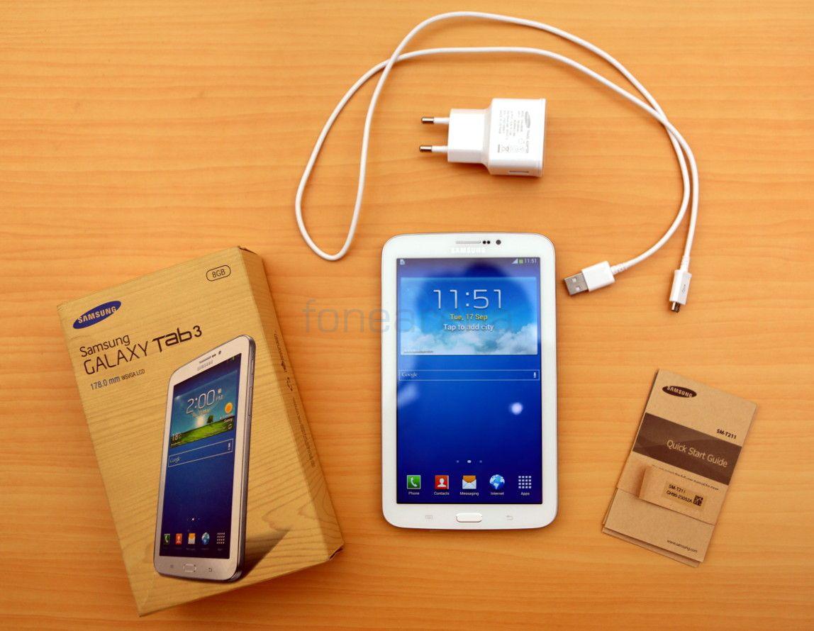 Samsung Galaxy Tab 3 70 SM T212 3G Ana Konu