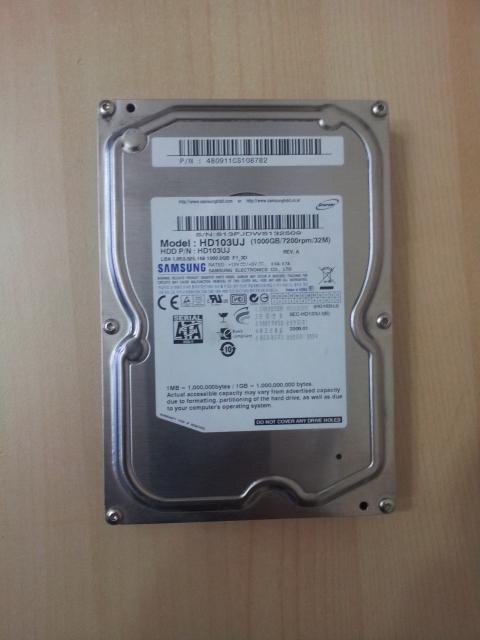 Samsung spinpoint f1 hd103uj 32mb 1tb