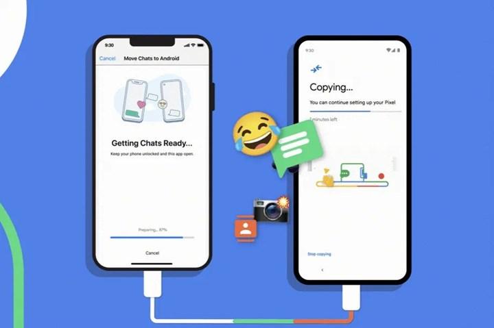 iOS'tan Android'e sohbet geçmişi aktarılabilecek