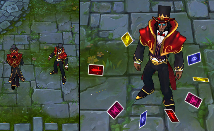 how to get underworld twisted fate skin